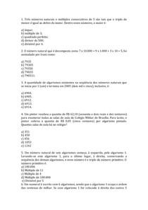 Capítulo 1   sistema de Numeração Decimal