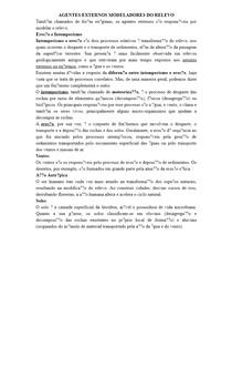 AGENTES EXTERNOS MODELADORES DO RELEVO