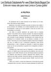 Aristóteles - A Política