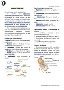 Microbiologia   Citologia bacteriana