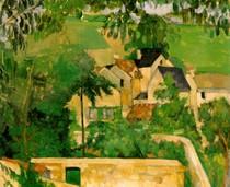 Paul Paul Cézanne - Study Landscape at Auvers
