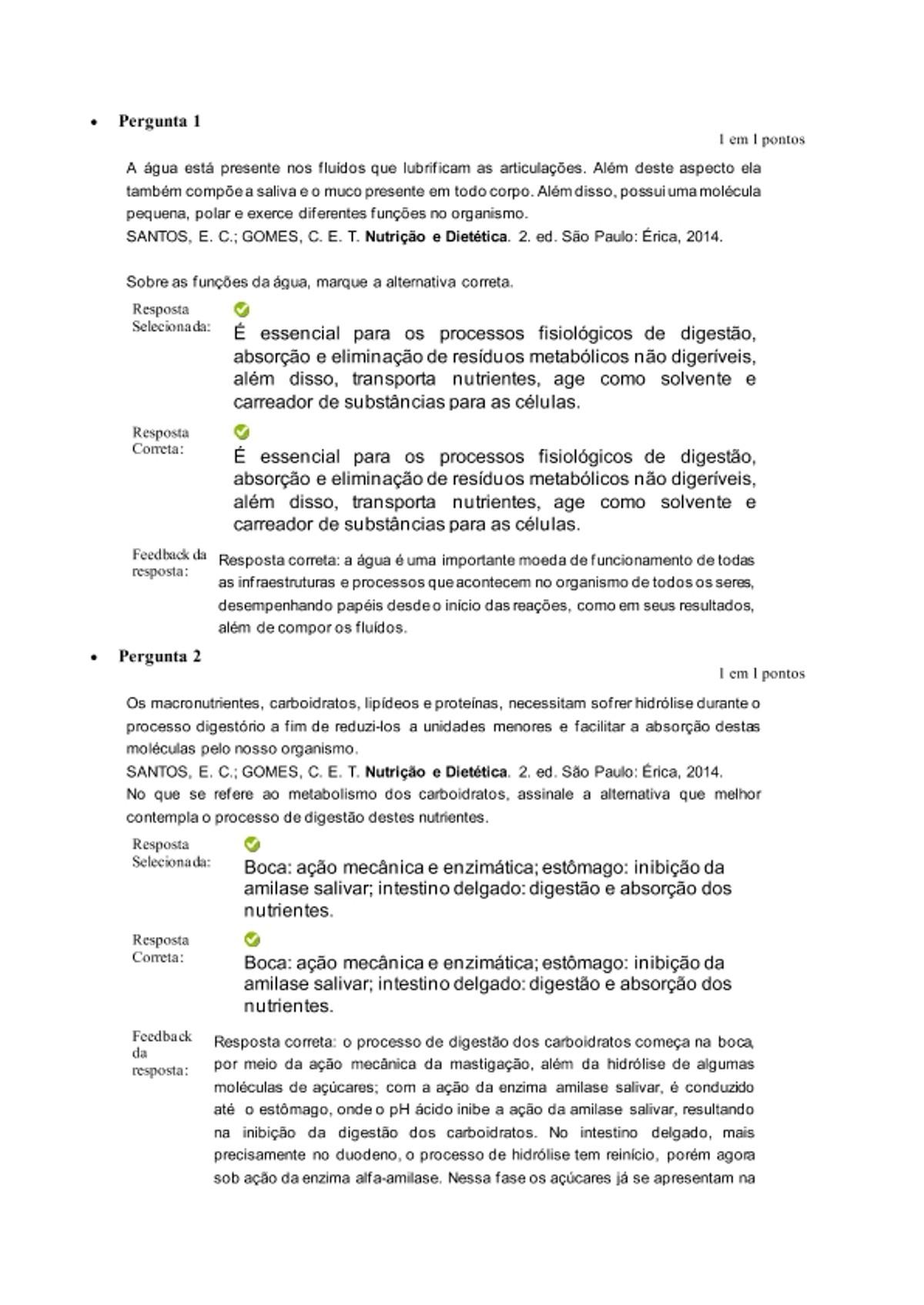 Pre-visualização do material Fundamentos de Nutrição (ON) ATIVIDADE 2 (A2) - página 1