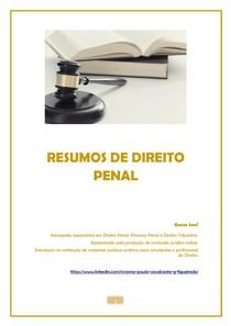 RESUMOS DE DIREITO PENAL_A Intervenção Mínima e a Subsidiariedade das normas penais