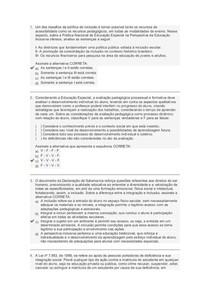 Prova2 - Licenciatura em Foco