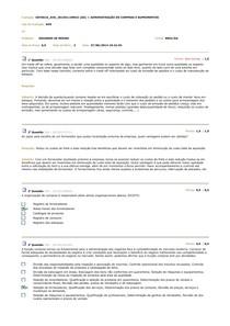 AVS-3P ADMINISTRAÇÃO DE COMPRAS E SUPRIMENTOS