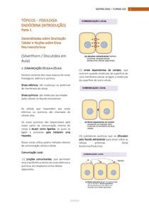 1- FISIOLOGIA ENDÓCRINA - Sinalização celular e noções sobre eixos neuroendócrinos
