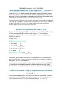 PROCESSO DO TRABALHO 1 - AULA 7