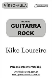 Manual Kiko Loureiro Guitarra Rock