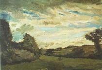 Vincent Willem van Gogh - Paisagem-com-Dunes