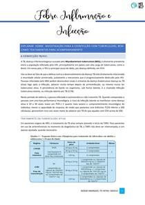 investigação para a coinfecção HIV/ tuberculose