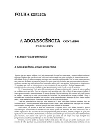 ADOLESCENCIA CALIGARIS