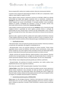RESTAURAÇÕES DE RESINA COMPOSTA EM DENTES ANTERIORES - resumo dentística