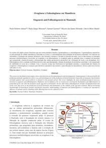 Ovogênese e Foliculogênese em Mamíferos