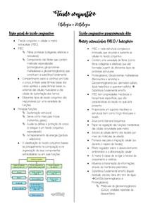 Tecido conjuntivo - Citologia e Histologia