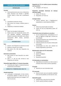 Infecções do trato urinário - Riella 24
