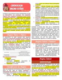Cardiologia - Angina Estável