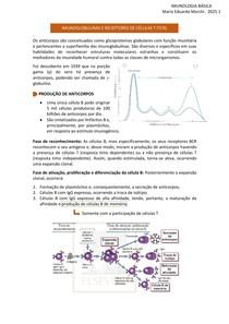 IMUNOGLOBULINAS E RECEPTORES DE CÉLULAS T (TCR)