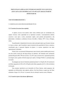 FAMÍLIAS DE INTERESSE ZOOTÉCNICO LEUCENA E CANA DE AÇÚCAR