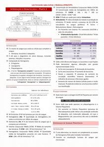 2 - Introdução à Hematologia 2 de 2