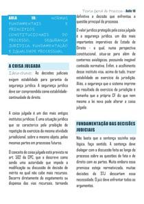 AULA 10 UFES TGP - NORMAS FUNDAMENTAIS E PRINCIPIOS CONSTITUCIONAIS DO PROCESSO, SEGURANÇA JURÍDICA, FUNDAMENTAÇÃO E IGUALDADE PROCESSUAL