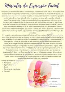 Músculos da Expressão Facial