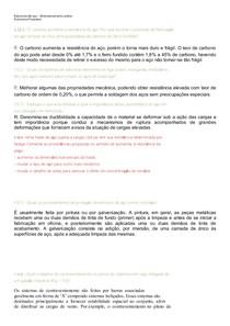 RESPOSTAS EXERCICIOS PROPOSTOS: Estruturas de aço  dimensionamento prático livro estruturas de aço Walter Pfeil
