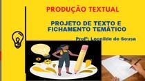 PROJETO DE TEXTO 01