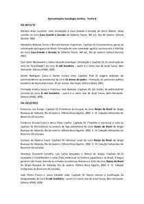 2º Trabalho (10-12) - Sociologia Jurídica - Apresentações