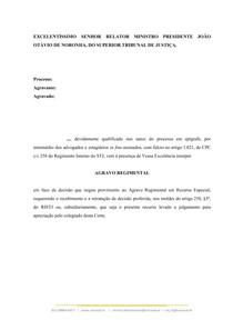 Agravo Regimental - Súmula 7 STJ