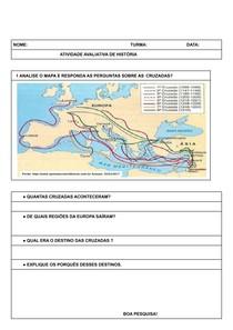 Atividade Avaliativa Mapa das Cruzadas