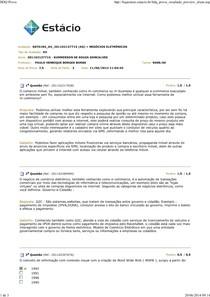 Negócios Eletronicos - AV 2014
