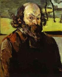 Paul Paul Cézanne - Self Portrait Of-Cezanne