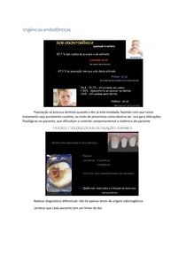 Urgências endodônticas
