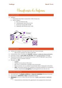 Classificação dos linfomas