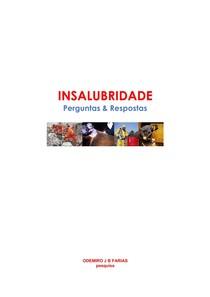 INSALUBRIDADE PERGUNTAS RESPOSTAS - Higiene e Segurança - 3 9fff4935d4