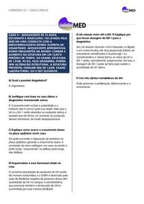 Caso Clínico sobre o Hormônio GH - GoGoGoMED