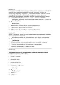 APOL 5 EMPREENDEDORISMO Nota 100