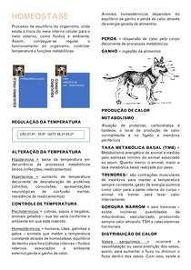 Homeostase - Equilíbrio acidobásico - Equilíbrio corporal animal