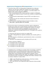 Gabarito da Prova2 Objetiva Programação Web2