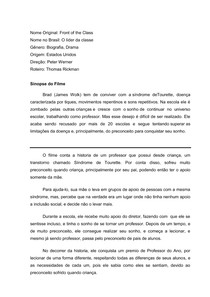 ACO CULTURAL - O LIDER DA CLASSE 11-03-18