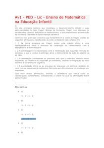 avaliaçao virtual 1