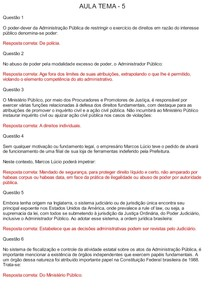 AVA - AULAS TEMA 5,6,7,8