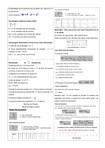 Formulário de probabilidade e estatística