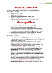 resumo de anemia carenciais pdf