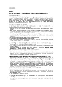 ECA_Aula 15_Crimes e infrações adm