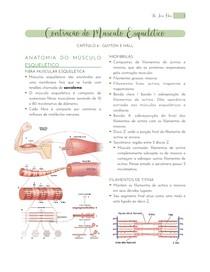 6. Contração do Músculo Esquelético - Resumo Guyton Cap. 6