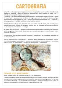 Cartografia - Geografia