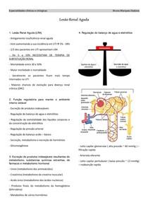 Lesão Renal Aguda (LRA)