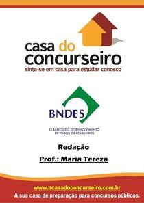 REDAÇÃO BNDES MARIA TEREZA
