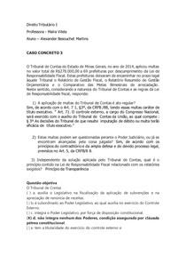 caso concreto 3 - Tributário I